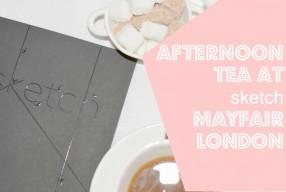 Afternoon Tea in London at 'sketch' Mayfair
