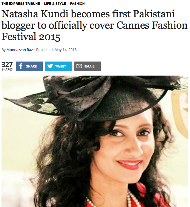 natasha kundi in press