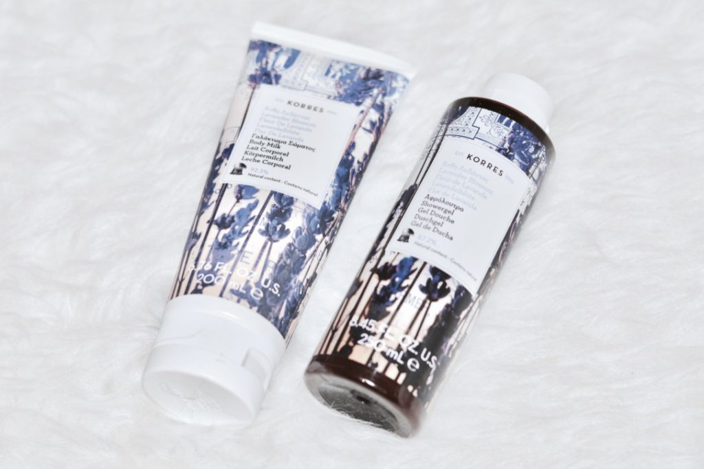 Korres Lavender Blossom Body Wash & Milk Review