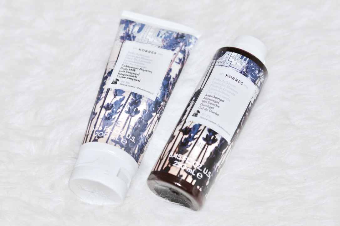 Korres Lavender Blossom Body Wash & Milk Review