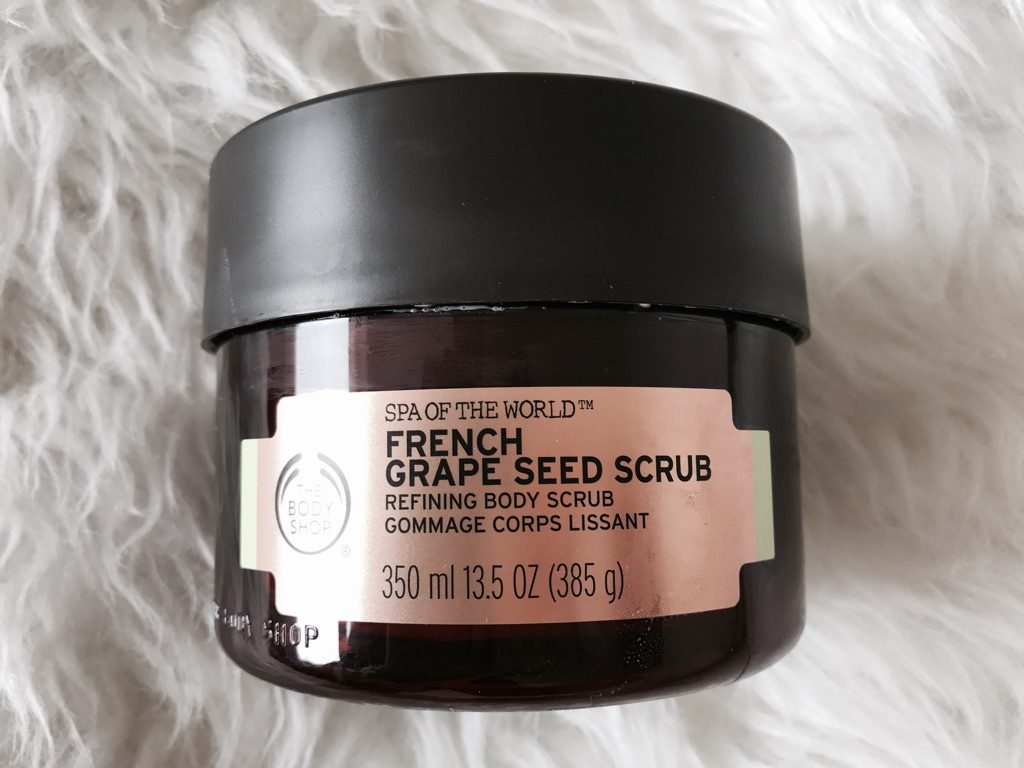 French Grape Seed Scrub