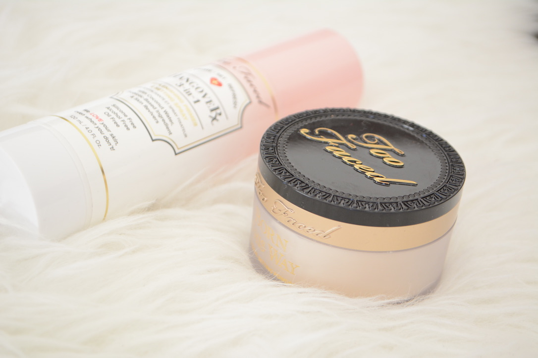 Too Faced Makeup Setting Spray & Powder Review