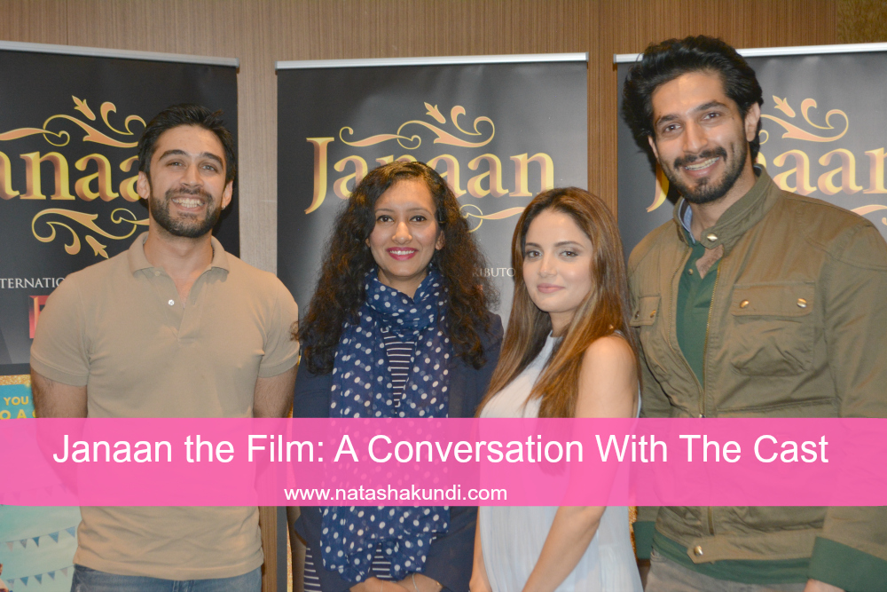 janaan review canaan film movie interview ali reman khan armeena khanbilal ashram uk press meet london 2