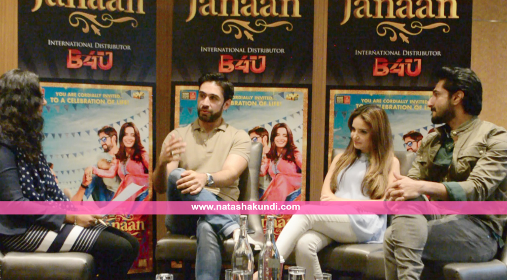 janaan review janaan pakistan film movie interview armeena khan bilal ashraf ali rehman khan london uk