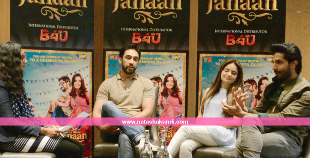 janaan review janaan pakistani film movie interview bilal ashraf armeena khan ali rehman khan london uk press meet 3