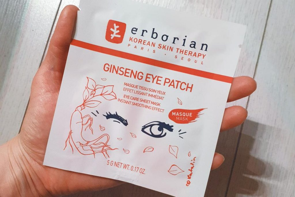 eborian ginseng eye patch mask